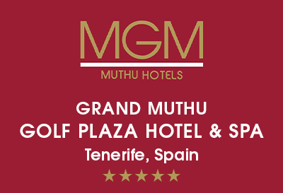 Grand Muthu Golf Plaza Hotel, Tenerife Logo