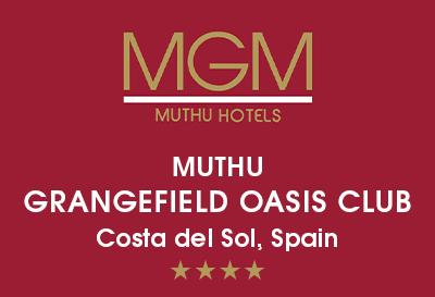 Muthu Grangefield Oasis Club, Malaga Logo