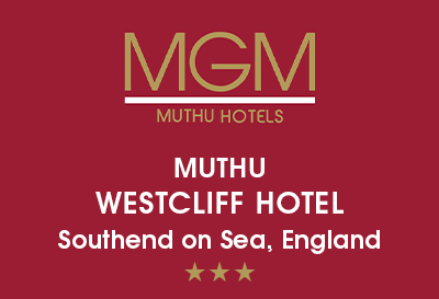 Muthu Westcliff Hotel, (NEAR LONDON SOUTHEND AIRPORT) Logo