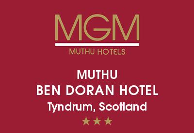 Muthu Ben Doran & Royal Hotel, Tyndrum Logo