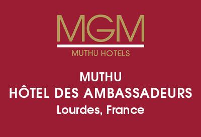 Muthu Hôtel des Ambassadeurs, Lourdes Logo