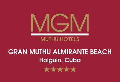 Gran Muthu Almirante Beach Hotel, Guardalavaca Logo
